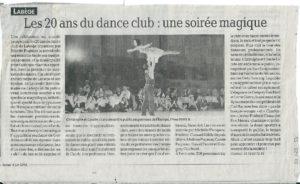 20ème Nuit de la Danse Labège